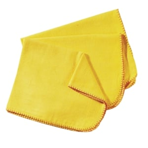YELLOW DUSTERS - PACK OF 10