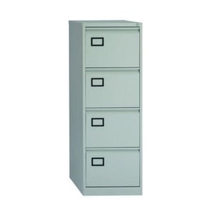 Bisley Economy Filing Cabinet 4 Drawer In Grey