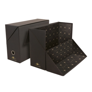 CENTURION BLACK FOOLSCAP FROGMOUTH DOCUMENT BOX