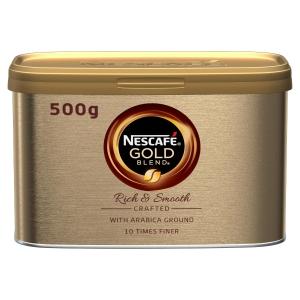 Nescafé Gold Blend Instant Coffee Tin 500G