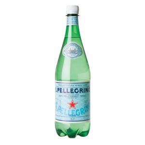 SAN PELLEGRINO SPARKLING WATER 1 LITRE - PACK OF 6