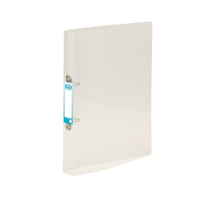 ELBA SNAP TRANSLUCENT CLEAR A4 2 O-RING POLYPROPYLENE BINDER