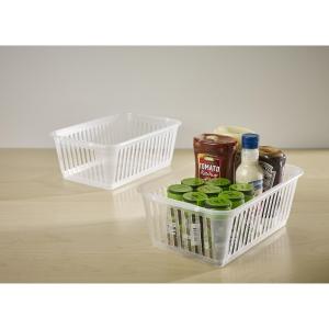 Handy Shopping Basket 30X20X11 White