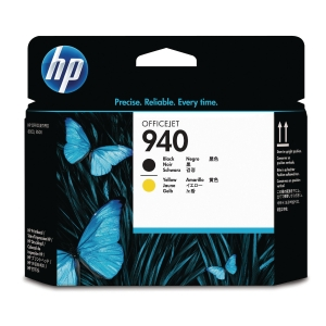 HP 940 Black and Yellow Original Printhead (C4900A)
