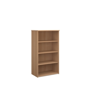 Wooden Bookcase 1440 X 800 X 470mm Beech