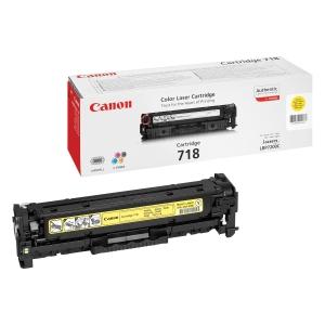 Canon 718Y Toner - Yellow