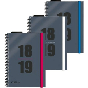 COLLINS DELTA ACADEMIC DIARY ASSORTED A5 - WEEK TO VIEW