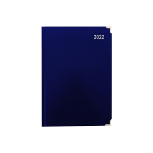LYRECO PREMIUM DIARY A5 BLUE - PAGE A DAY