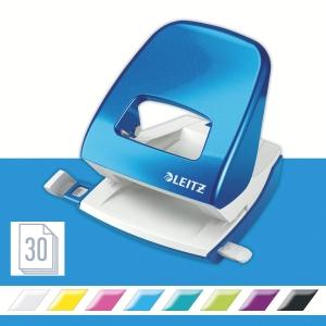 Leitz NeXXt Wow 5008 Series 30 Sheet 2 Hole Punch Blue