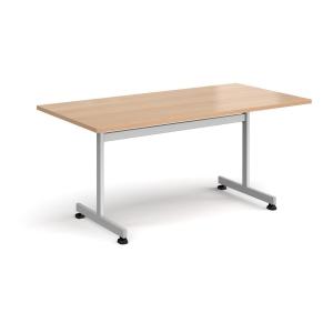 TILT TOP TABLE RECTANGULAR 1600MM BEECH