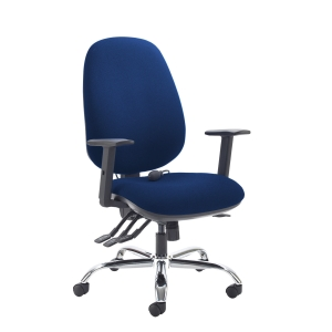 Jota Ergo High Back Managers Chair Blue