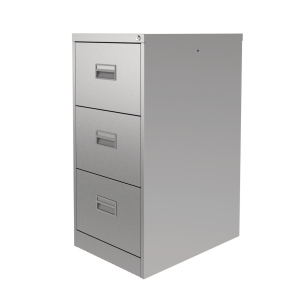 CONTRACT MIDI FILING CABINET 3 DRAWER GREY