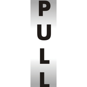 PULL OFFICE SIGN 190 X 45MM
