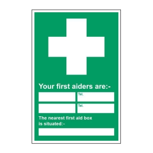 graphic regarding First Aid Sign Printable known as Security Symptoms Lyreco British isles Cellular phone: 0845 767 6999
