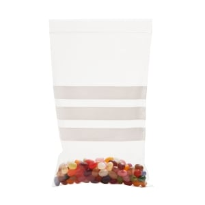 WRITE ON PANEL GRIP BAGS 88 X 112MM - BOX OF 1000