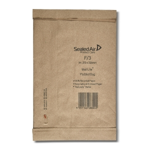MAIL LITE PADDED BAGS F3 213 X 336MM - BOX OF 50