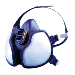 3M 4277 A,B,E1, P3 MAINTENANCE FREE REUSABLE HALF MASK RESPIRATOR