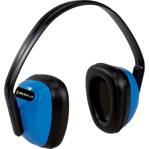 DELTAPLUS BASIC EAR DEFENDER BLACK/BLUE