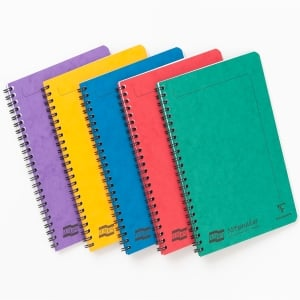 EUROPA NOTEMAKER NOTEBOOKS A5 ASSORTED COLOURS - PACK OF 10