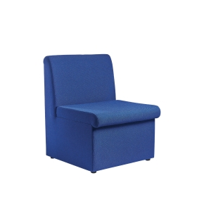 BLUE MODULAR RECEPTION CHAIR