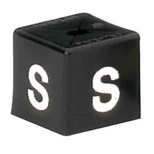 PK50 MINICUBE SIZ S WHITE / BLACK BARNARDOS