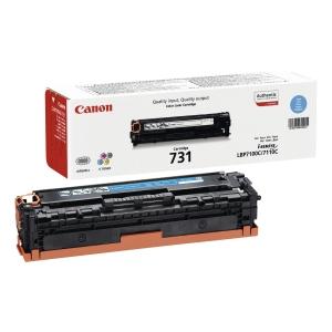 Canon 731C Laser Toner 1,500 Cyan 6271B002