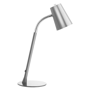 Unilux Flexio Fluorescent Desk Lamp Grey