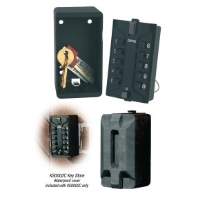 Phoenix KS0003C Key Store Safe With Weatherproof Cover & Combination Lock