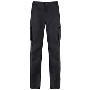 COMBAT TROUSER BLACK 32   WAIST  REG LEG