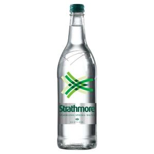 STRATHMORE SPARKLING WATER GLASS BOTTLE 1 LITRE - PACK OF 12