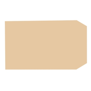 LYRECO manilla 9 1/2 X 6 1/2INCH SELF SEAL PLAIN ENVELOPES 80GSM - BOX OF 500
