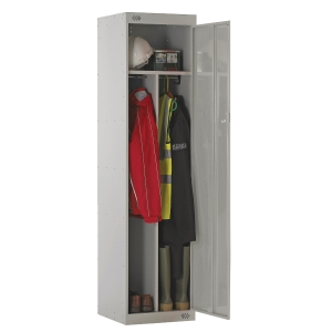 CLEAN/DIRTY LOCKER 1800H X 450W X 450D, 1 DOOR GREY