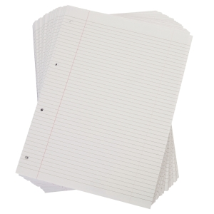 Lyreco Budget White A4 Ruled Paper 60gsm - Pack of 1 Ream (500 Sheets)
