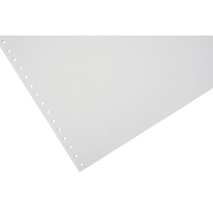 LYRECO 280 X 370MM 1-PART PLAIN NON PERF LISTING PAPER 70GSM - 2000 SHEETS