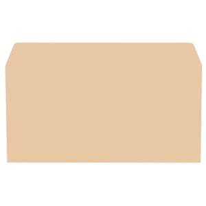 LYRECO manilla DL GUMMED PLAIN ENVELOPES 70GSM - BOX OF 1000