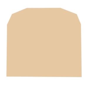 Lyreco Manilla Envelopes C6 Gum 70gsm - Pack Of 1000