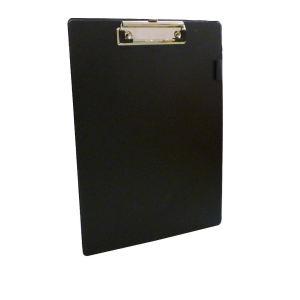 Pvc Coated Black Foolscap Clipboard