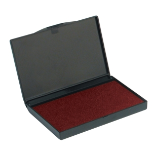 DORMY REPLACEMENT MICRO STAMP PAD RED - 127 X 88MM