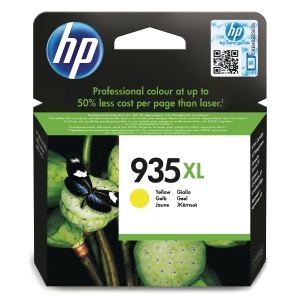 HP 935XL High Yield Yellow Original Ink Cartridge (C2P26AE)