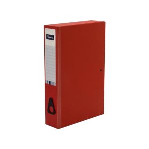 Lyreco Red Foolscap Box File