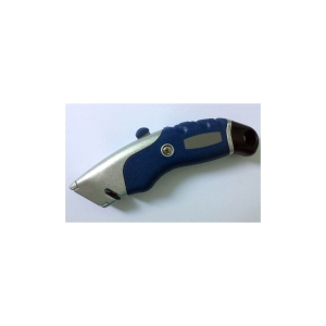 Lyreco Premium Self-Retracting Knife Blue