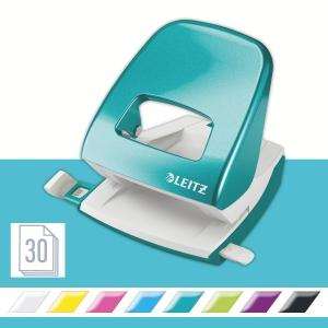Leitz NeXXt Wow 5008 Series 30 Sheet 2 Hole Punch ICE Blue