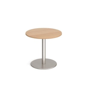 Wooden Beech Top Coffee Table 700mm X 700mm