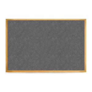 Oak Frame Grey Felt Board 1200mm X 900mm