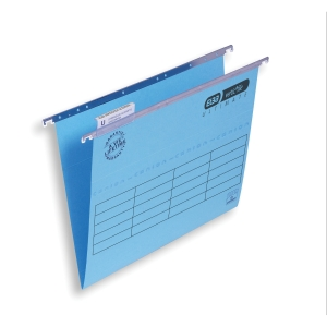 Elba Strongline Ultimate Verticfile Susp File Foolscap Blu V Base - Box of 50