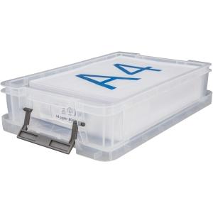 Whitefurze Allstore Clear 5.5 Litre Pp Storage Box