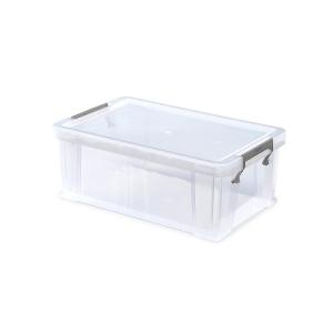 Whitefurze Allstore Clear 10 Litre Pp Storage Box