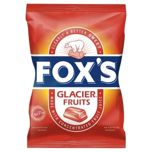 FOX S GLACIER FRUITS 195G - PACK OF 12
