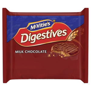 MCVITIE CHOCOLATE DIGESTIVE TWINPACK - PACK OF 48
