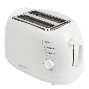 2 SLICE WHITE TOASTER